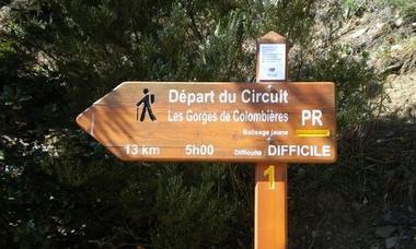 PR40 - LES GORGES DE COLOMBIERES