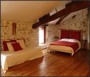 La Maison d'Hôtes Poujol Suite Familiale Chambre