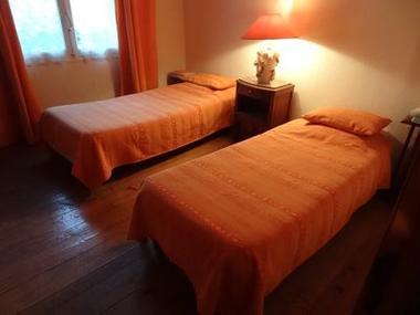 La Bruyère chambre orange
