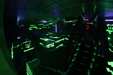 Laser Game Evolution
