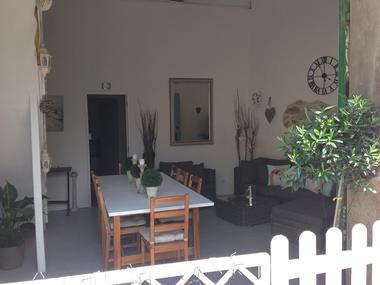 Le Cerisier Carling salle a manger st genies de fontedit (2)