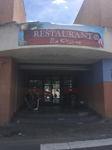 Restaurant La Piscine Entrée