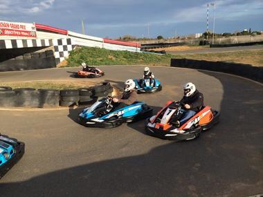 Sun Karting course