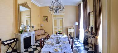 Salle du petit déjeuner