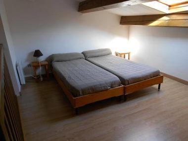 Mezzanine à 2 lits.