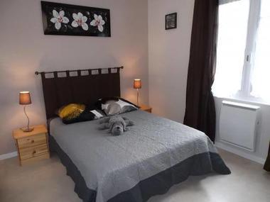 Chambre lit double.