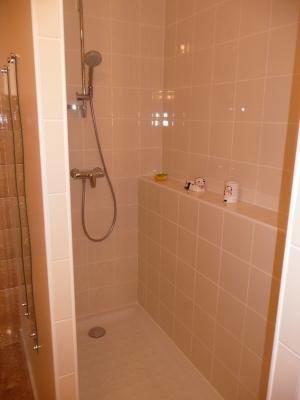 la douche dans la salle d'eau