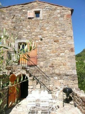 L'accès à la terrasse