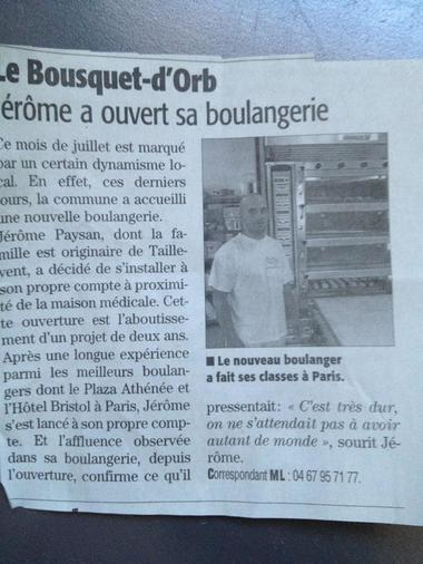 annonce journal