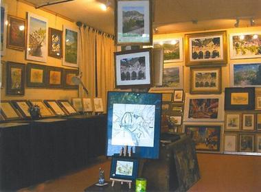 COM - Roquebrun - Artiste Peintre - L'echoppe - Atelier