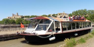 Croisières sur le pont-canal de Béziers