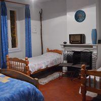 chambre bleue chez Camille