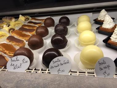 desserts boule noel