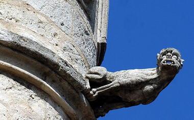 gargouille église madeleine[Monument Ville]