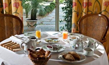 logis herault - chateau siran - petit dejeuner