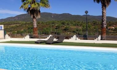 logis herault - le pressoir - piscine 1