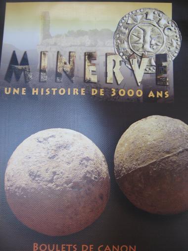 Expo Minerve 3000 ans d'histoire