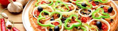 pizza poivrons