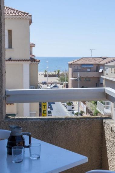 Résidence le Créole - Vue Balcon - Valras-Plage