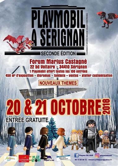 2018-10-20 et 21 salon playmo du sud sérignan