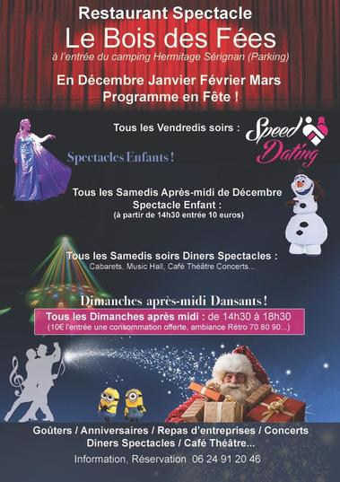 2018-12 et fanvier et fevrir 2019 Le bois des Fées Sérignan