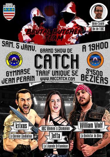 2019-01-05 show catch Béziers