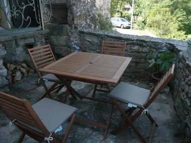 Terrasse privative CH Salagou.