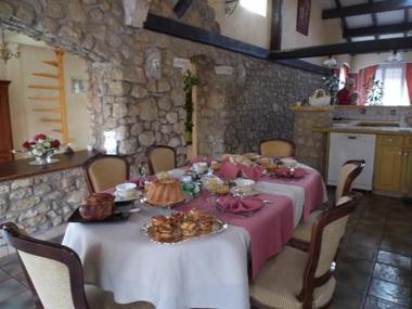 Côté salle à manger.