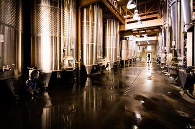 La cave de vinification