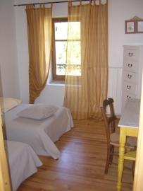 Chambre 1er étage/2 lits simples