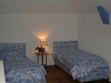 MANOIR LA BARDOULAIS - 2nde chambre double du scd étage - St Méloir