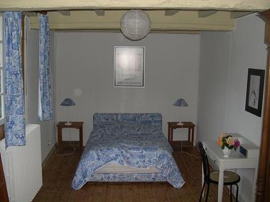MANOIR LA BARDOULAIS - Chambre double du 1er - St Méloir