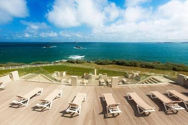 Novotel Thalassa Dinard - Terrasse vue mer