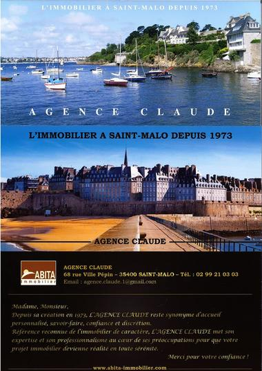 Agence Claude - Saint-Malo
