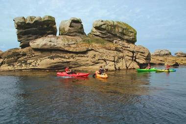 A la rencontre des phoques gris en kayak