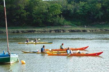 Au fil du Jaudy en kayak de mer
