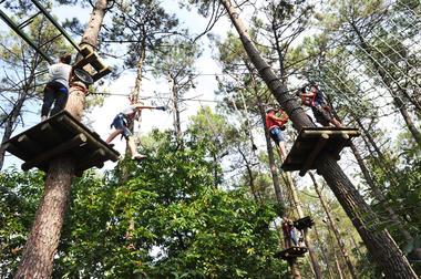Parc des Grands Chênes - Parcours acrobatique en forêt