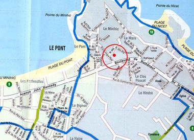 Accès - Cyprès 90 Mitteaux-Martin - Saint-Malo