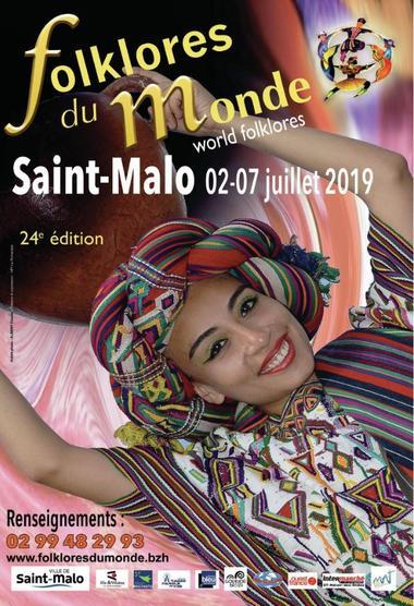 Affiche Folklores du Monde 2019