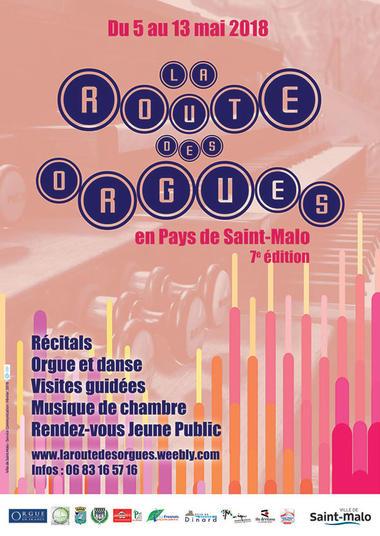 ©La Route des Orgues / Ville saint-Malo