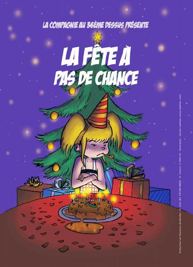 Affiche spectacle de Noel 18dec2019