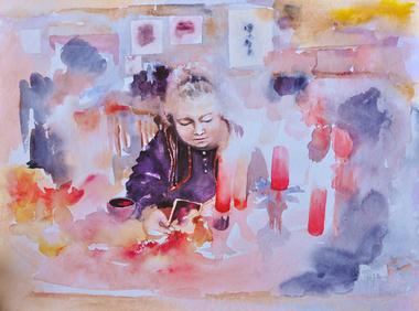 Artiste Peintre Marie lebrenn