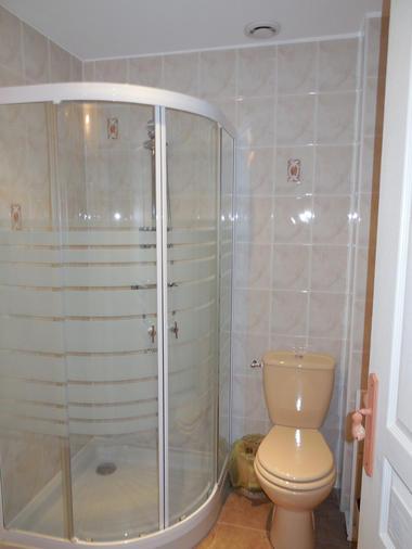 B&B La Lande Grèle - salle douche2 - Saint Jouan des Guerets