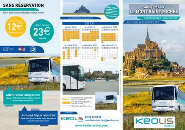 Keolis Armor - Transport MtStMichel - 2019