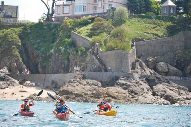 Balade en kayak de mer sur Dinard