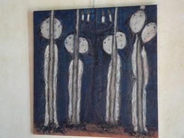 Béatrice Sévère, artiste peintre à Iffendic