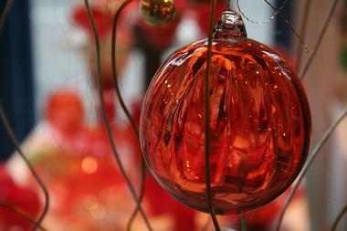 Boule Noel rouge