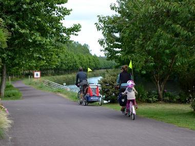 A vélo sur le canal