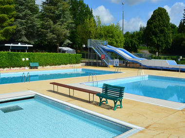 Camping - piscine - Sérent