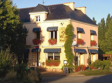 Le relais du maquis - facade - Saint-Marcel